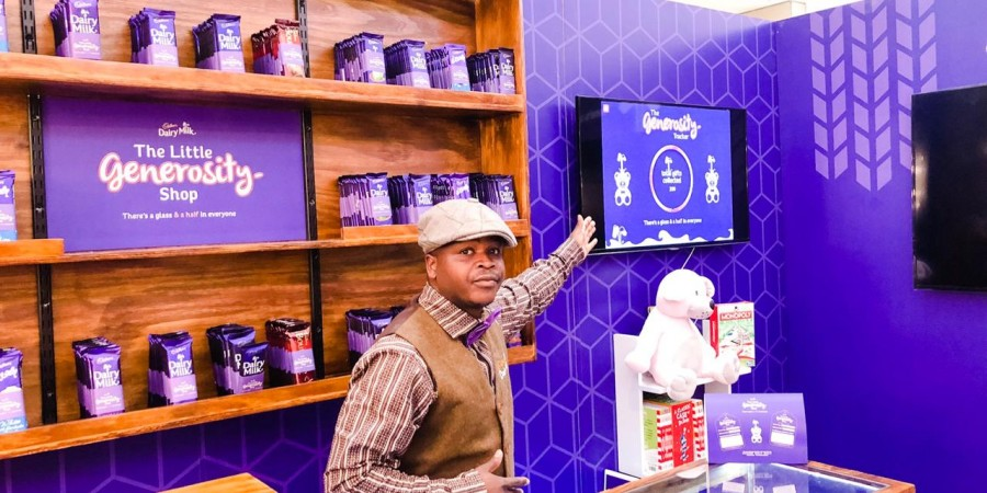 """Giving Back With Cadbury Dairy Milk And """"The Little Generosity Shop"""